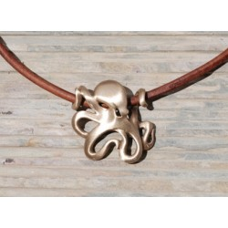 Image from BRASS OCTOPUS NECKLACE