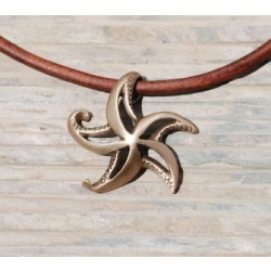 Image from BRONZE STARFISH NECKLACE