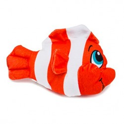 Image from Innovative Scuba Concepts Chester the Clown Fish Stuffed Plush Toy