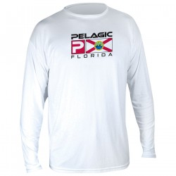 Image from Pelagic AquaTek Florida Deluxe +50 UPF Sunshirt (Men's)