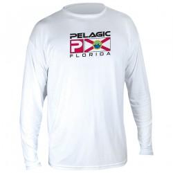 Image from Pelagic AquaTek Florida Deluxe +50 UPF Sunshirt (Men's)