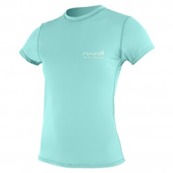 Image from O'Neill 24/7 Tech Crew +30 UPF Short-Sleeve Rashguard (Women's)