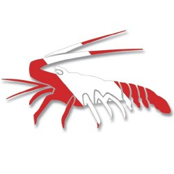 Image from Dive Flag Lobster Decal