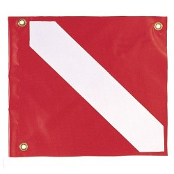 Image from Vinyl Scuba Diving Flag 14 by 16 Inches