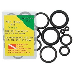 Image from Viton Replacement Nitrox O Ring Kit