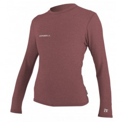 Image from O'Neill 24/7 Hybrid +50 UPF Long-Sleeved Surf Tee (Women's)