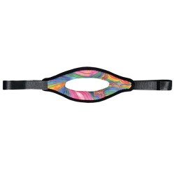 Image from Psychedelic Split Mask Strap
