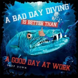 Image from Deep Down Bad Day T-Shirt