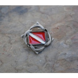 Image from DOLPHIN DIVE FLAG PIN