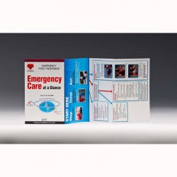 Image from PADI EMERGENCY CARE AT A GLANCE CARD