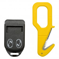 Image from Zeagle Serrated Line Cutter Knife with Sheath