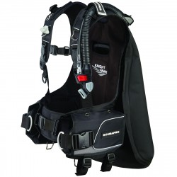 Image from ScubaPro Knighthawk Back-Inflation BCD with Balanced Inflator (Men's)