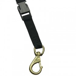 Image from Quick Release Webbing Brass Clip no 2