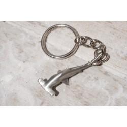 Image from hammerhead shark keychain