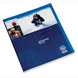 Image from PADI RESCUE DIVER MANUAL W/ SLATE-English