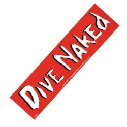 Image from Dive Naked Bumper Sticker
