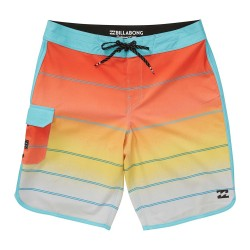 "Image from Billabong 73 X Stripe 20"" Boardshorts (Men's) Yellow"