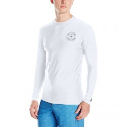 Image from Billabong Rotor Loose Fit Rashguard - White - Front