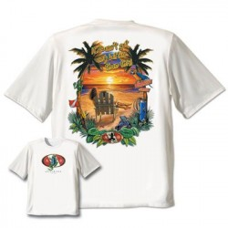 Image from Amphibious Outfitters Sunset Beach T-Shirt
