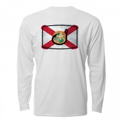 Image from AVID Florida Flag AVIDry 50+ UPF Long Sleeve Sun Shirt (Men's)