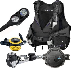 Image from Aqua Lung Women's Scuba Gear Package