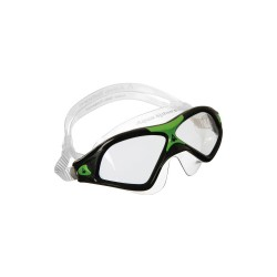 Image from Aqua Sphere Seal XP 2 Swim Mask (Men's) - Black/Green