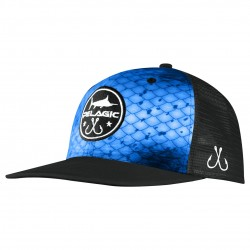 Image from Pelagic Hydro Snapback Hat - Dorado Blue