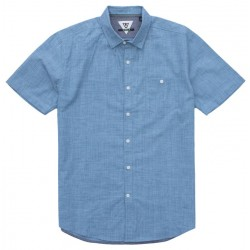 Image from Vissla Happens Woven Button-Down Short-Sleeve Shirt (Men's)