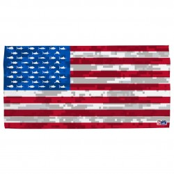 Image from Pelagic Americamo Cotton Beach Towel