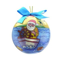Image from Santa Boat Ornament