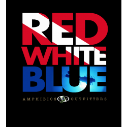 "Image from Amphibious Outfitters ""Red White Blue"" Short-Sleeved T-Shirt"