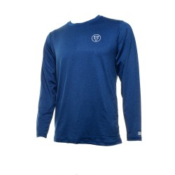Image from EVO Antix Heathered UPF 50+ Long-Sleeve Sunshirt (Men's) Heather Blue