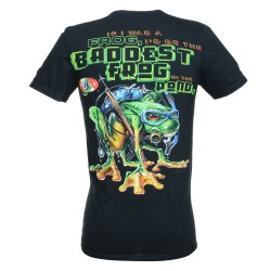 Image from baddest frog dive t shirt back