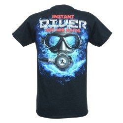 Image from Amphibious Outfitters Instant Diver T-Shirt back