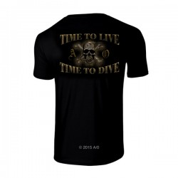Image from Amphibious Outfitters Time To Dive Tee