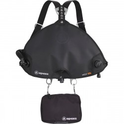 Image from Apeks WSX Sidemount BCD Harness System