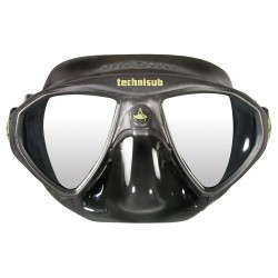 Image from Aqua Lung Micromask Scuba Mask Black with Black Skirt