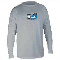 Image from Pelagic Aquatek Men's Long Sleeve SPF Shirt