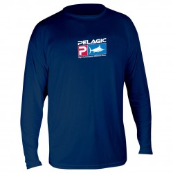 Image from Pelagic Aquatek Long Sleeve Sun Shirt - Youth