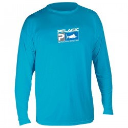 Image from PELAGIC AquaTek UV 50+ Long Sleeve Sunshirt (Men's)