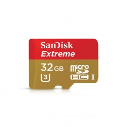 Image from SanDisk Extreme All-Weather High-Speed MicroSDHC Card - 32GB