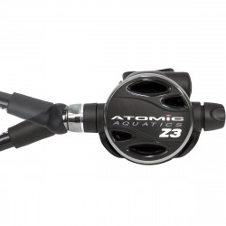 Image from Atomic Aquatics Z3 Factory-Sealed Zirconium Scuba Regulator