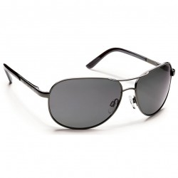 Image from Suncloud Aviator Polarized Polycarbonate Sunglasses (Men's) - Gunmetal/Gray