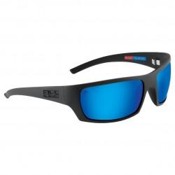 Image from Pelagic The Mack Polarized Glass Sunglasses - Black/Blue Glass
