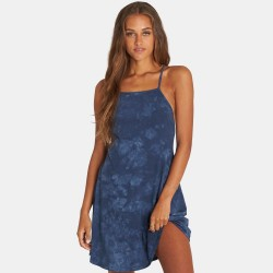 Image from Billabong Shorebird Mini Dress (Women's) - Blue Tide