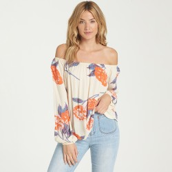 Image from Billabong Mi Amore Off-the-Shoulder Top (Women's)