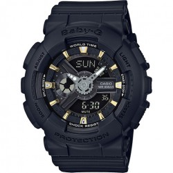 Image from G-Shock Baby-G Gold Accent Series Women's Dive Watch - Black