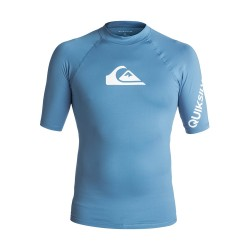 Image from Quiksilver All Time UPF 50+ Short-Sleeve Rashguard (Men's)