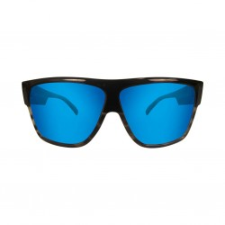 Image from Pelagic Regulator Sunglasses - Blacksmoke Frames with Ocean Mirror Lenses