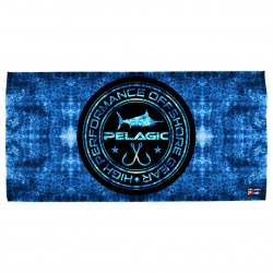 Image from Pelagic Blue Hex Logo Cotton Beach Towel